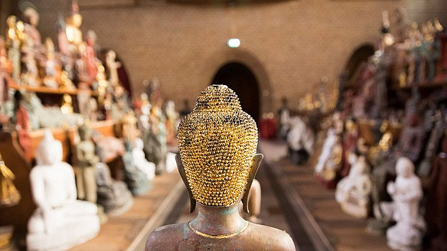 Pyu Buddha statues from Burma