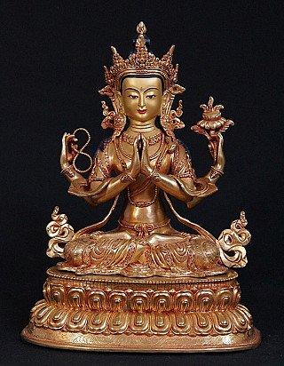 tibetan-buddha-statues