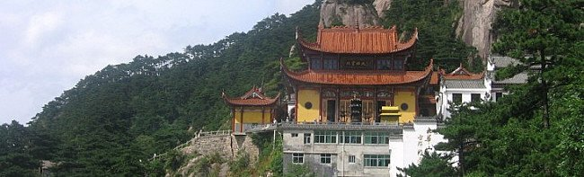 Mount Jiuhua- a sacred mountains