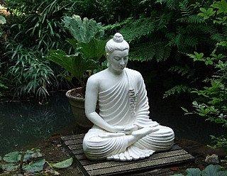 garden buddha statue