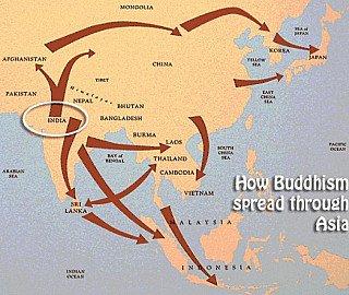 verspreiding-boeddhisme