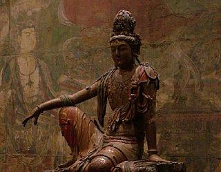 Manjushree statue