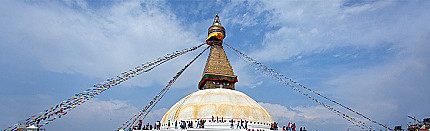 Boudhanath: a Buddhist pilgrimage site in Nepal