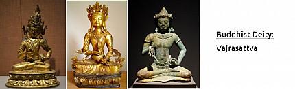 Buddhist Deity: Vajrasattva