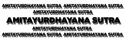 Amitayurdhayana Sutra