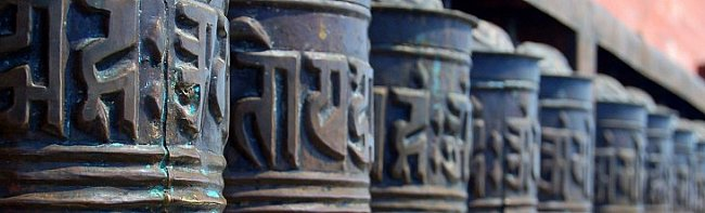 buddhism prayer wheel