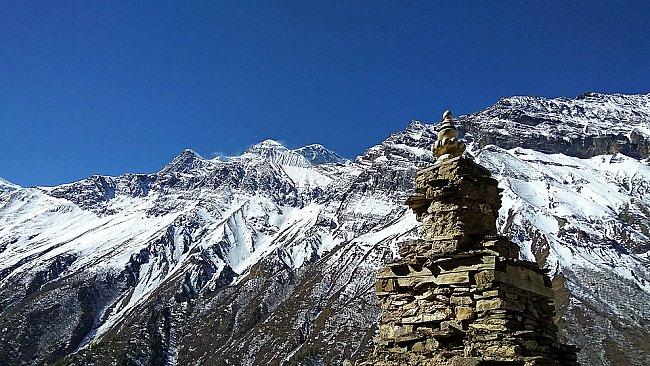 nepal tibetan stupa