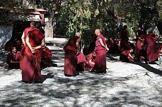 monks in tibetan buddhism