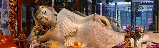 reclining buddha statue jade buddha temple
