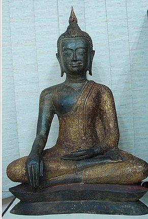 u thong buddha statue