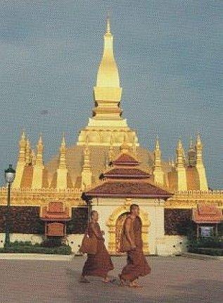 pha that luang stupa laos