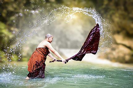 Sanghati - Monastic Robe