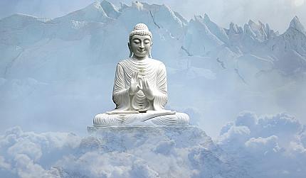 Buddhas Crossed Legged Position - Lotus Position