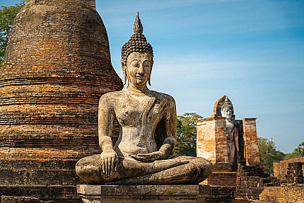 The Mahamuni Buddha Image - One of Five Likeliness of Buddha