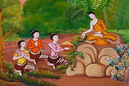 Kaundinya - First Disciple and Arahant