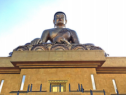 Bhutan Buddha Statues and Sacred Places
