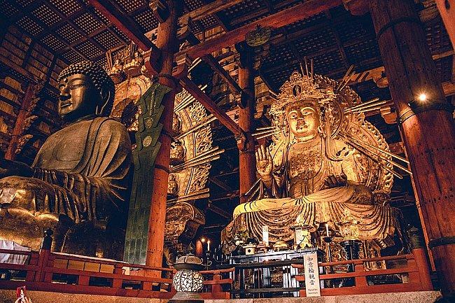 Amida Buddha Statues in Japan