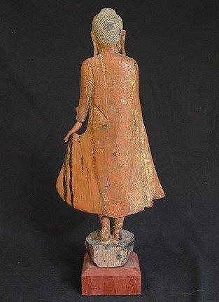 Antique Buddha statue