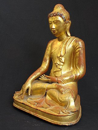 19 Jahrhundert Myanmar Buddha
