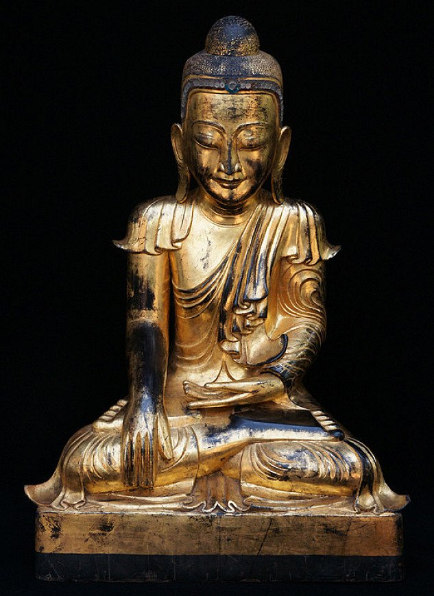 Antique Burmese Buddha