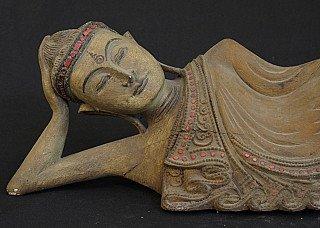 Old reclining Buddha