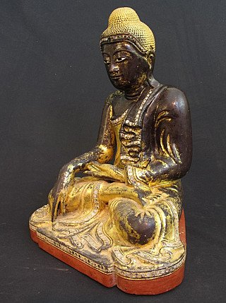 Original 19th century Buddha statue