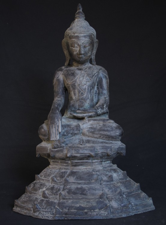 Antique Shan Buddha from Burma