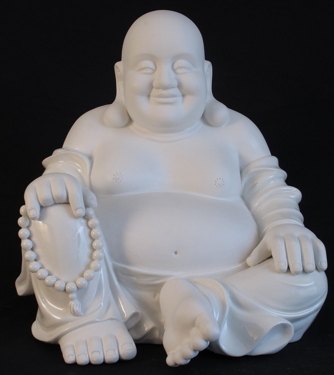 Porcelain Happy Buddha from China made from porcelain