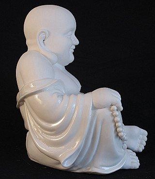 Porseleinen Lachende Boeddha