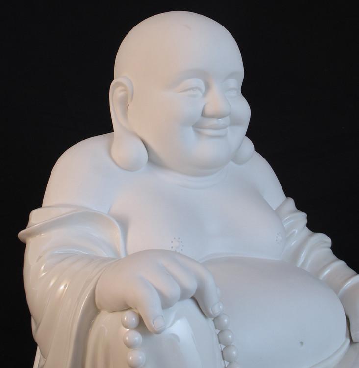 porzellan lachender buddha aus china gemacht aus porzellan. Black Bedroom Furniture Sets. Home Design Ideas