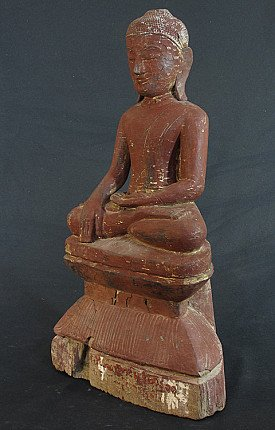 Antique Shan Buddha