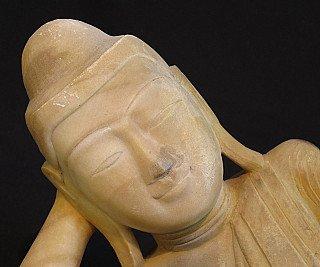 Antieke liggende Boeddha