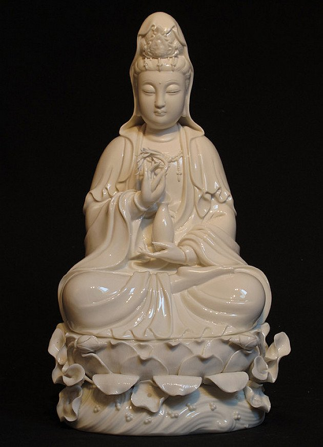New sitting Guan Yin