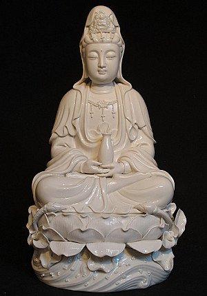 New sitting Guan Yin