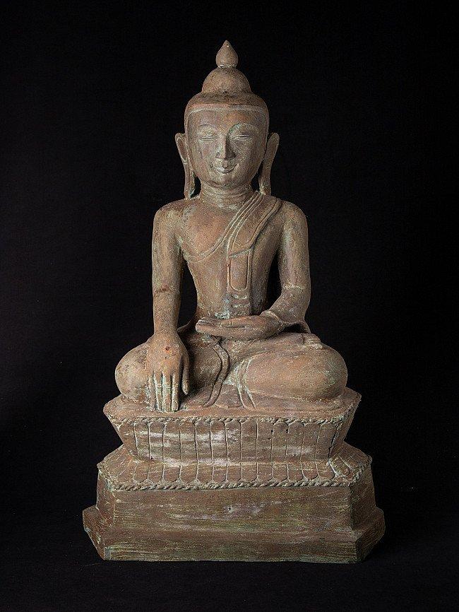 Alte bronze Buddhafigur