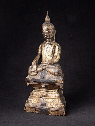 Antieke Birmese Shan Boeddha