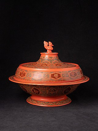 Newly made Burmese offering vessel
