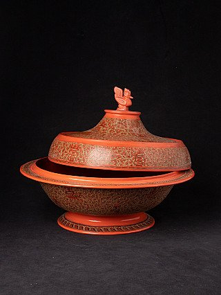Newly made Burmese offering vessel