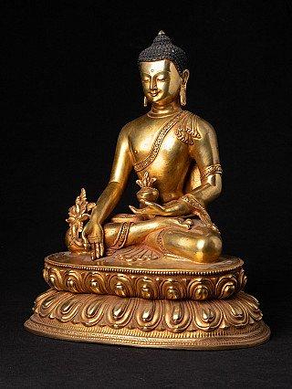Newly made Nepali Medicine Buddha statue