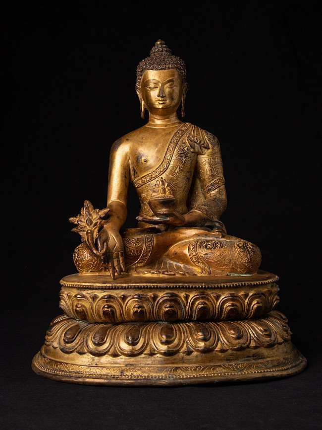 Old Nepali medicine Buddha