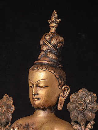 Large antique Nepali Tara statue