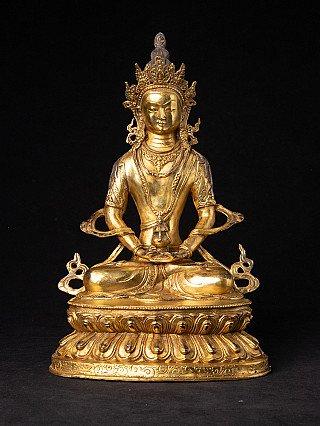 Bronze Nepali Bodhisattva statue