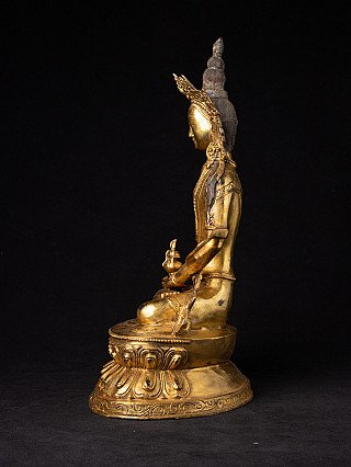 Bronzen Nepalese Bodhisattva