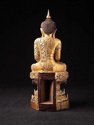 Alte Birmanische Buddha aus Holz