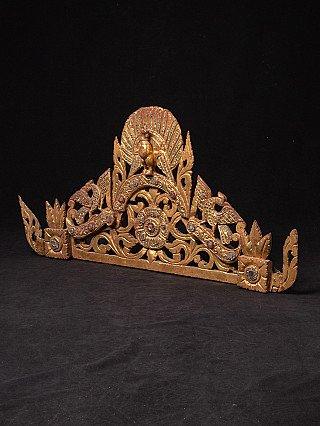 Antique Burmese woodcarving