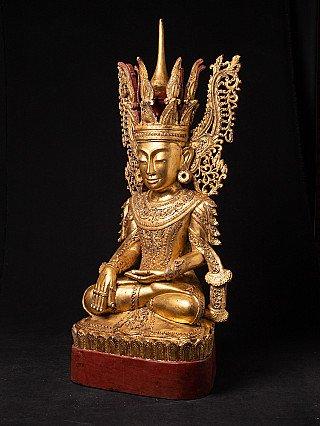 Grote Birmese gekroonde Boeddha