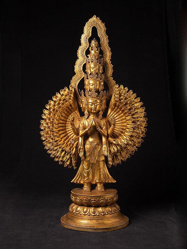 Grote bronzen Avalokiteshvara