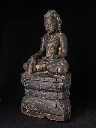 Antique Burmese Shan Buddha statue