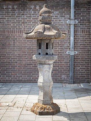 Large lavastone Lantern