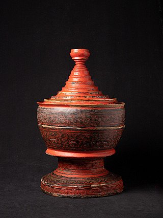 Large antique offering vessel